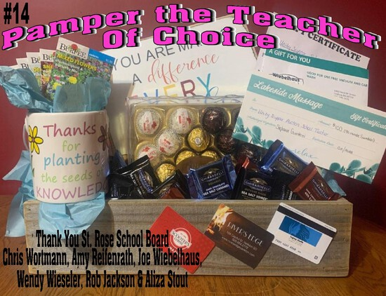 Pamper the Teacher of Choice