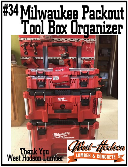 West Hodson Lumber Milwaukee Packout Tool Box Organizer