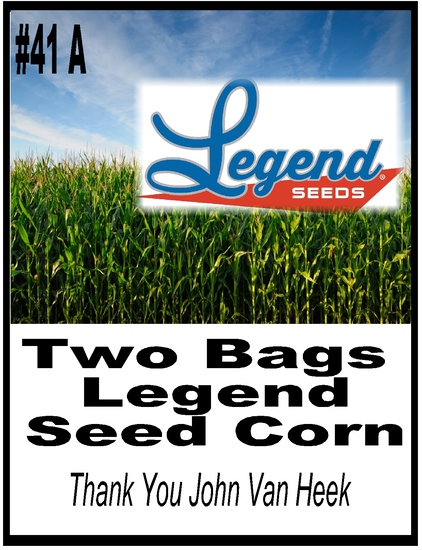 Legend Seed Deal - 2 Bags of Legend Seed Corn