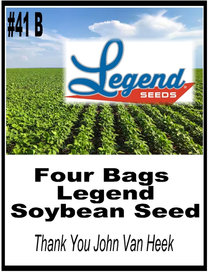 Legend Seed Deal - 4 Bags of Legend Beans