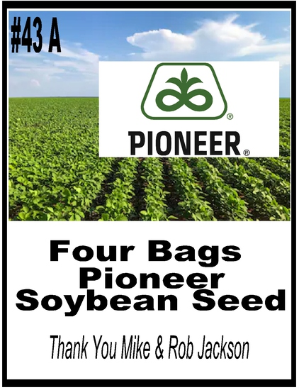 Pioneer Seed Package - 4 Bags of Soybeans