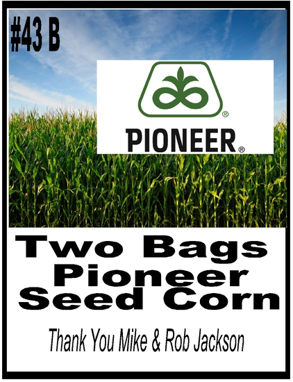 Pioneer Seed Package - 2 Bags of Pioneer Seed Corn