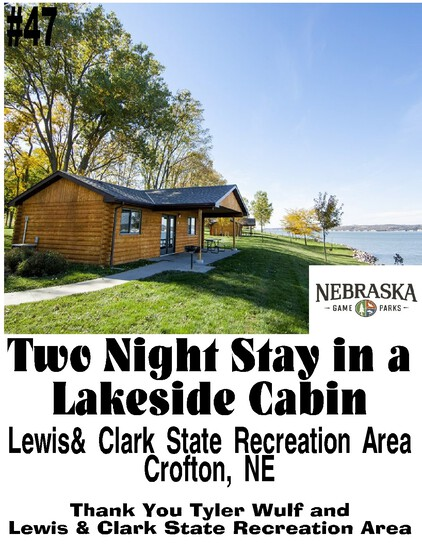 Stay 2 Nights in a Lakeside Cabin on the Beautiful Nebraska Side of Lewis & Clark Lake