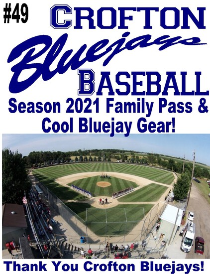 Bluejays Baseball – Season 2021 Family Pass & Fan Gear