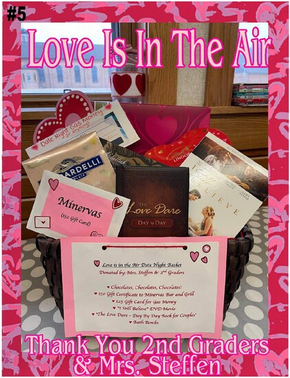 """Love is in the Air"" Date Night Basket"