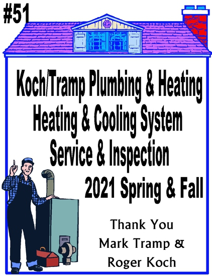 Koch/Tramp Plumbing and Heating - Heating & Cooling System Service & Inspection