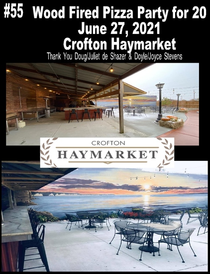 Pizza Party For 20 at the Crofton Haymarket Outdoor Patio