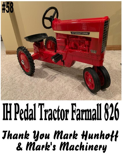 IH International Pedal Tractor