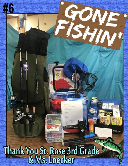 """Gone Fishin"" - Fishing Package"