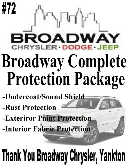 Broadway Chrysler Complete Protection For Your Vehicle