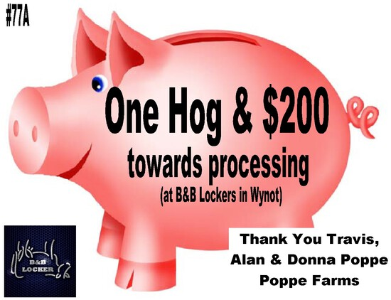 Hog and Processing at B&B Locker in Wynot