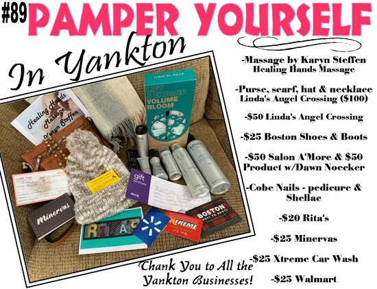Pamper Yourself Package