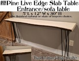 Beautiful Rustic Handcrafted Accent Table