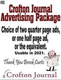 Crofton Journal Advertising Package