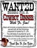 Fr. Keiter's Cowboy Dinner