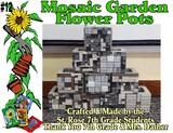 """""""Mosaic Garden Flower Pots"""""""