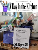 """""""A Day in the Kitchen"""" Carrying Tote"""
