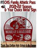 Crofton High School Annual Family Athletic Pass for the 2021-2022 Season