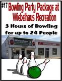 Bowling Party for 24 at Wiebelhaus Recreation/Centennial Lanes