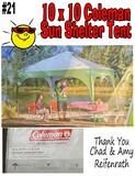 Sun Shelter Tent