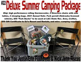 Deluxe Summer Camping Package