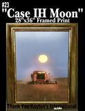 """Case IH Moon"" - Framed Print"
