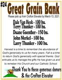Great Grain Bank - 100 Bushels of Corn