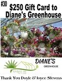 Diane's Greenhouse $250 Gift Card