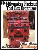 West Hodson Lumber Milwaukee Packout Tool Box Organizer