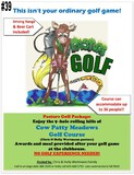 Pasture Golf Package at Cow Patty Meadows