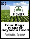 Pioneer Seed Package - 4 Bags of Soybeans
