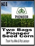 Pioneer Seed Package - 2 Bags of Pioneer Seed Corn