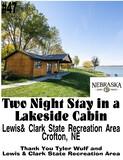 Stay 2 Nights in a Lakeside Cabin on the Beautiful Nebraska Side of Lewis & Clark Lake