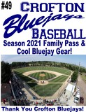 Bluejays Baseball – Season 2021 Family Pass & Fan Gear