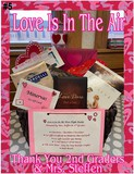 """""""Love is in the Air"""" Date Night Basket"""