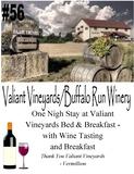 Valient Vineyards/Buffalo Run Winery Stay