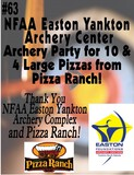 Archery Party For 10 with Pizza