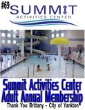Yankton Summit Activities Center – One Adult Annual Membership