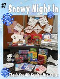 """""""Cozy Snowy Night"""" - Blankets, Chocolate, Snacks, and More!"""
