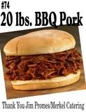 20# of BBQ Pork