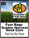 4 Bags of Golden Harvest Seed
