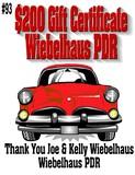 $200 Gift Certificate to Wiebelhaus PDR
