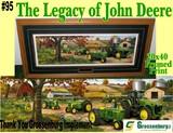 """""""The Legacy of John Deere"""" Framed Print"""