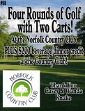 Large Golf Package at the Norfolk Country Club!