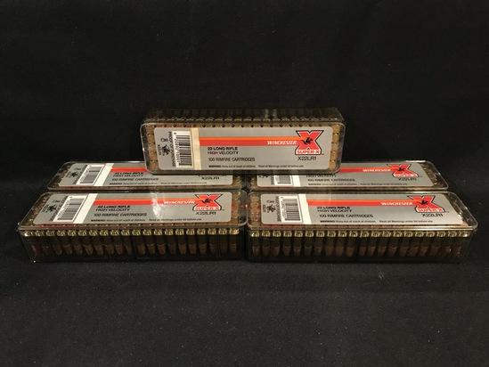 (5) Winchester Super X .22LR 40gr RN High Velocity