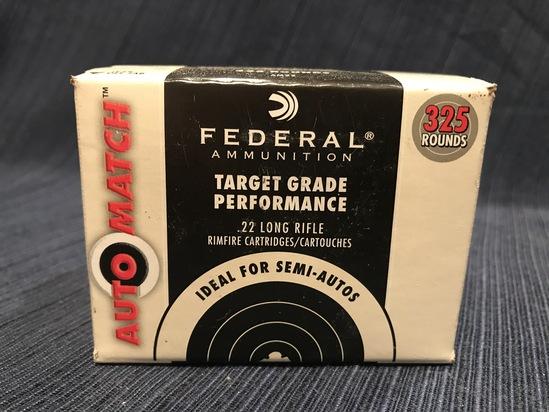 325rds Federal Auto Match .22LR