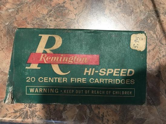 Remington Hi-Speed 30-40 Kraig