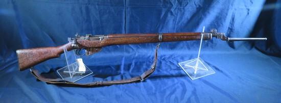 British Lee Enfield Rifle .303 British w/ Bayonet