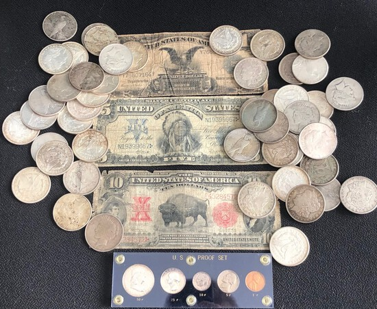 MARCH COIN AND CURRENCY AUCTION