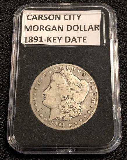"1891-CC ""Carson City"" Morgan Silver Dollar"